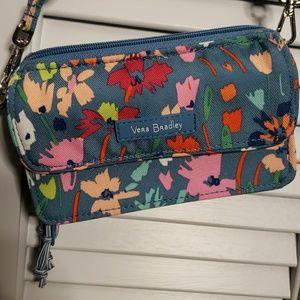 NWOT Vera Bradley all-in-one cross body RFID bag